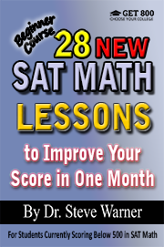 28 SAT Math Lessons - Beginner