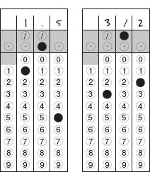 SAT practice math grid in