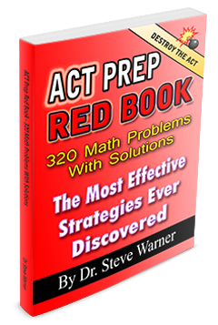 ACT Prep Red Book